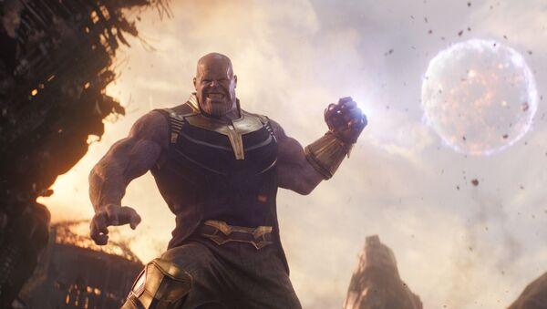 Thanos nel film Avengers: Infinity War - Sputnik Italia