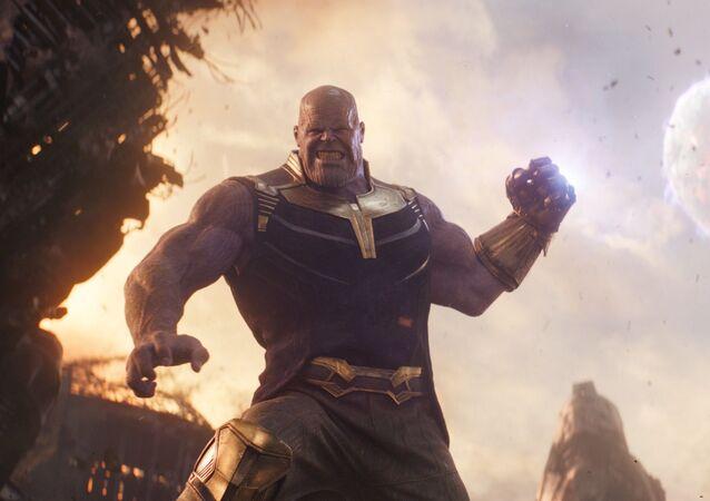 Thanos nel film Avengers: Infinity War
