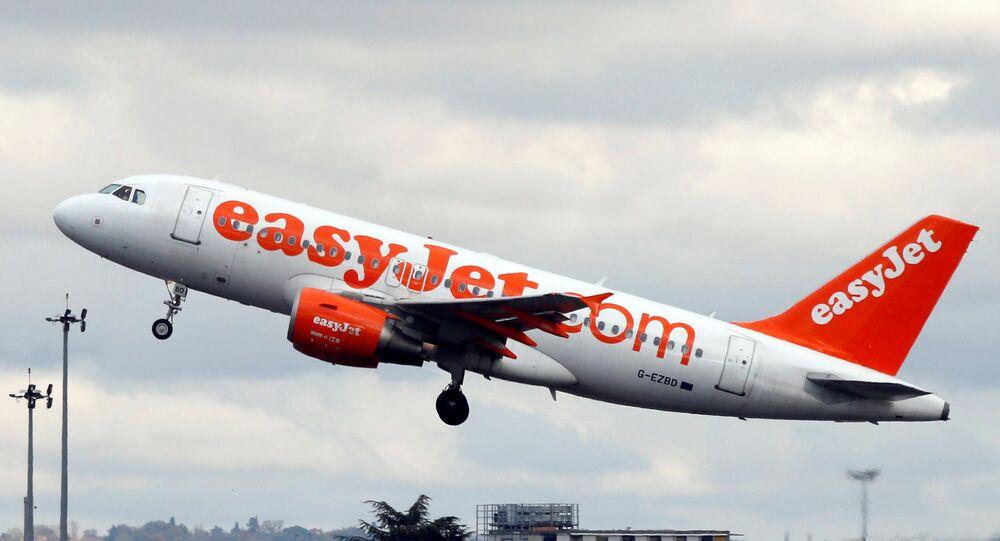 Un aereo di EasyJet