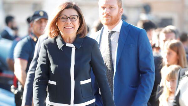 Paola De Micheli, la ministra delle Infrastrutture e dei Trasporti - Sputnik Italia