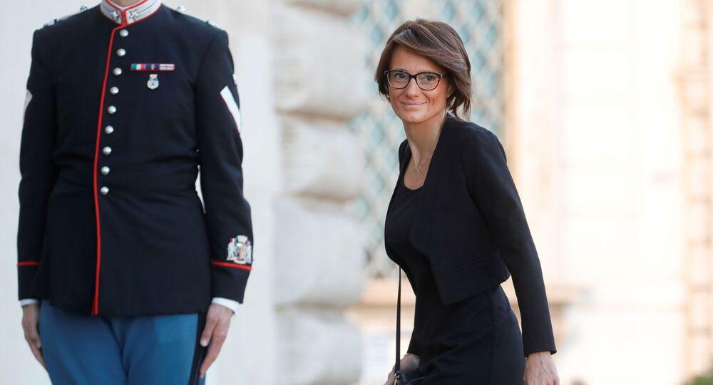 Elena Bonetti, ministra delle Pari opportunità e della Famiglia.