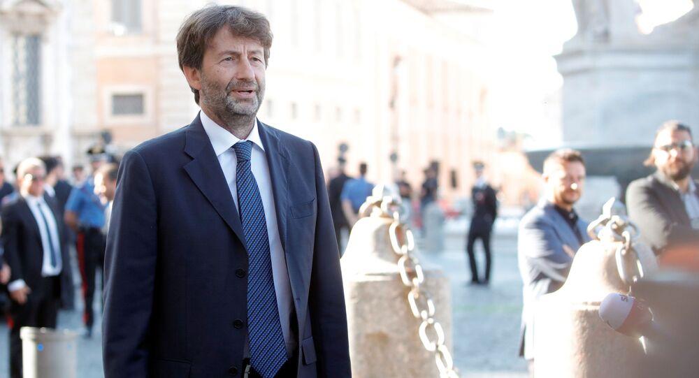 Dario Franceschini, il ministro della Cultura