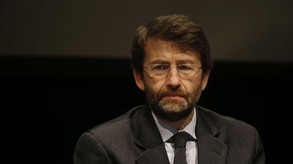 Il ministro della Cultura Dario Franceschini - Sputnik Italia