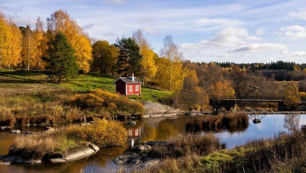 Una vista bella in Finlandia - Sputnik Italia