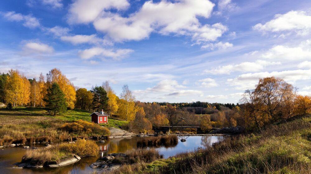 La Finlandia è al primo posto per i viaggi naturalistici. Guardate che vista!