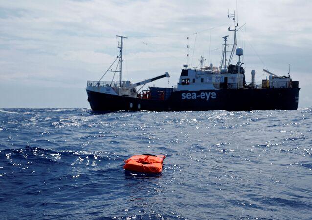 La nave Alan Kurdi