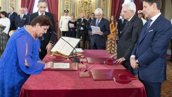 Teresa Bellanova, il ministro dell'Agricoltura - Sputnik Italia