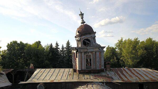 Vinogradovo, una vecchia torre sgangherata - Sputnik Italia