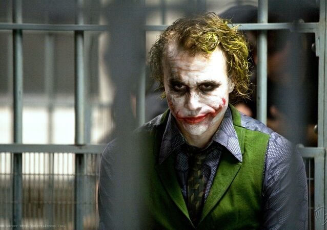 Actor Heath Ledger as Joker