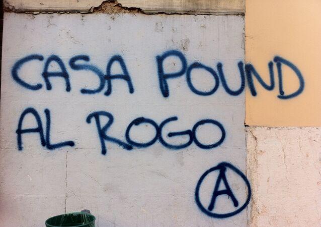 Casa Pound Al Rogo