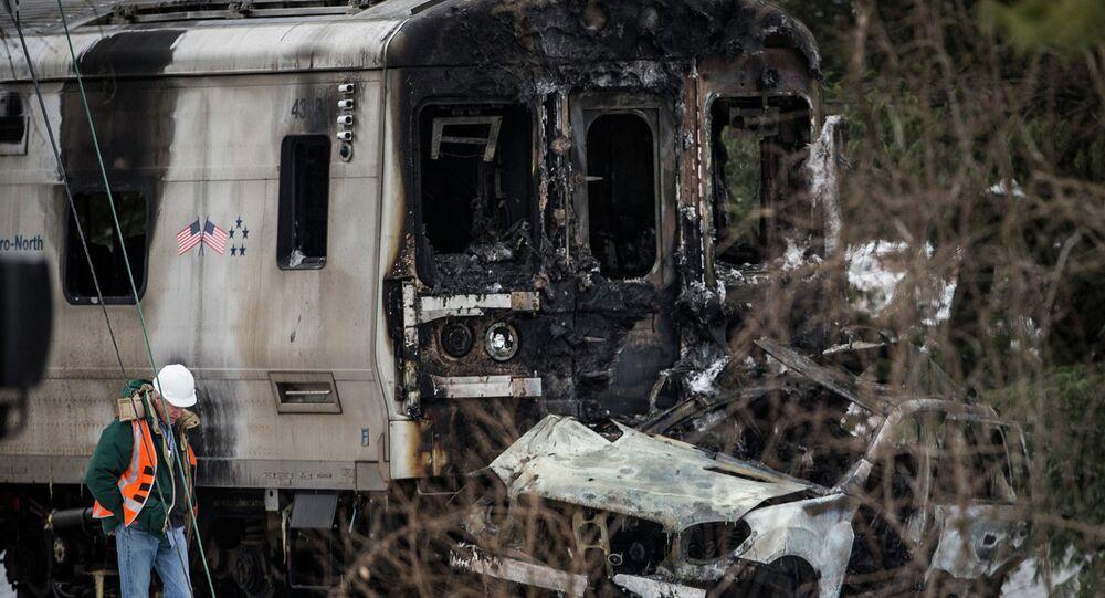 Incidente treno in America