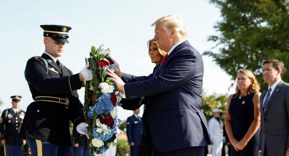 Presidente Usa Donald Trump e la first lady Melania Trump