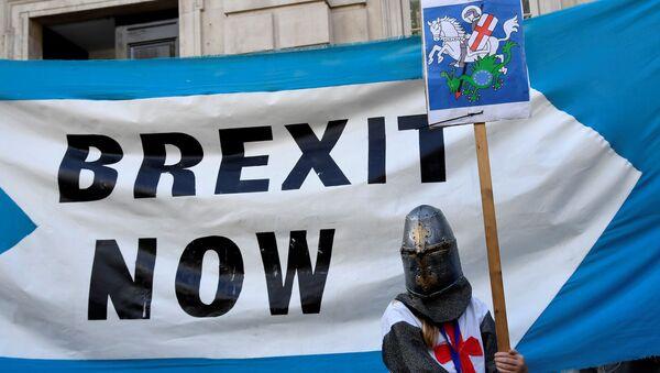 Manifestazione per la Brexit a Londra  - Sputnik Italia