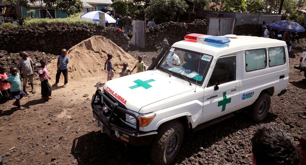Ambulanza nella Repubblica democratica del Congo