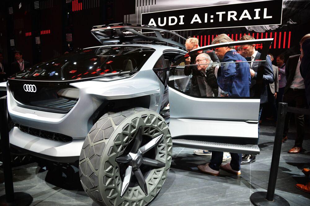 Anche i fuoristrada diventeranno ecologici, come dimostra l'esempio dell' Audi Al:Trail.