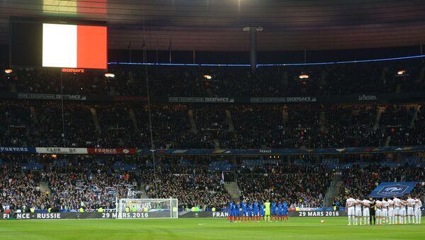 Tribune gremite allo StadeFrance di Parigi per un incontro della nazionale transalpina - Sputnik Italia