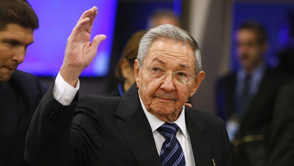 Raúl Castro, il presidente di Cuba - Sputnik Italia