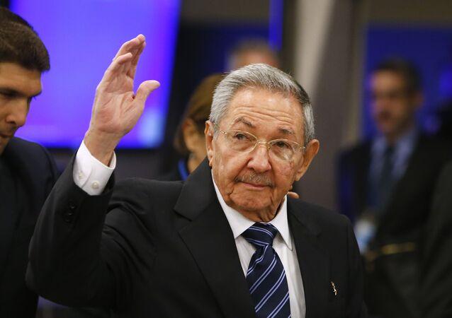 Raúl Castro, il presidente di Cuba