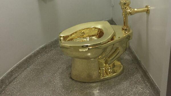 Water in oro massiccio rubato dalla casa natale di Winston Churchill - Sputnik Italia
