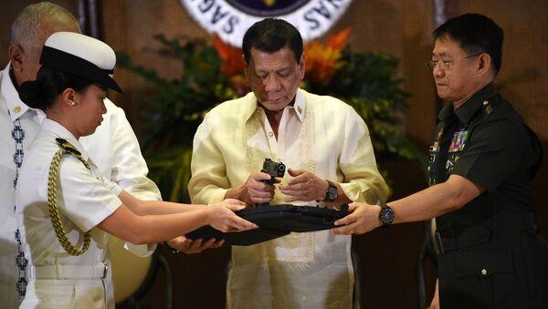 Il presidente delle Filippine Rodrigo Duterte - Sputnik Italia