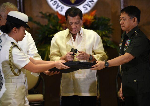Il presidente delle Filippine Rodrigo Duterte