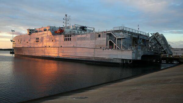 La nave americana USNS Yuma - Sputnik Italia