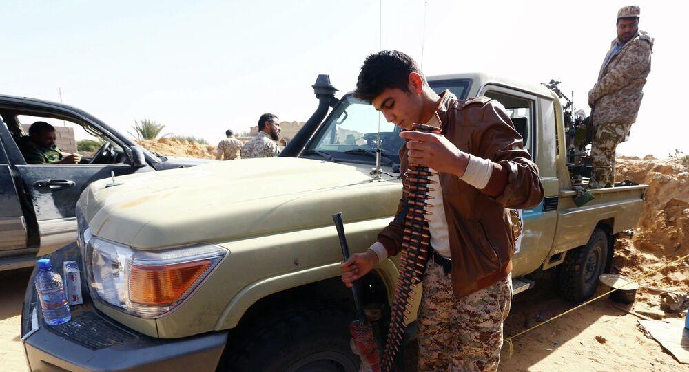 Combattenti in Libia
