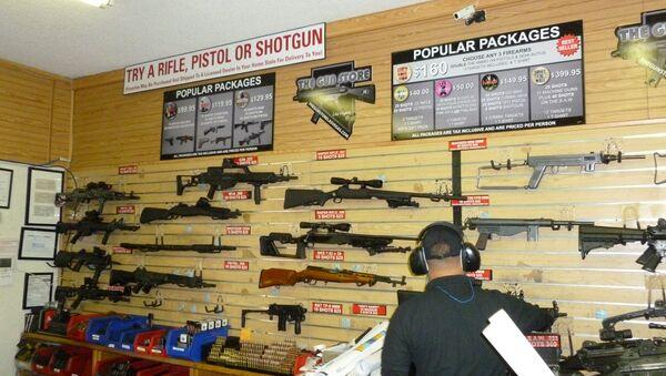 Negozio d'armi, USA - Sputnik Italia