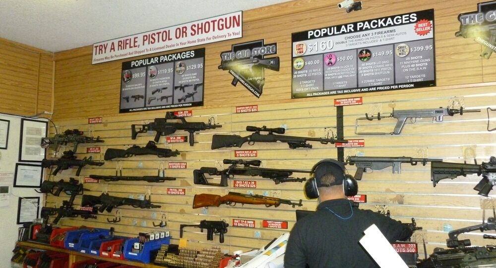 Negozio d'armi, USA