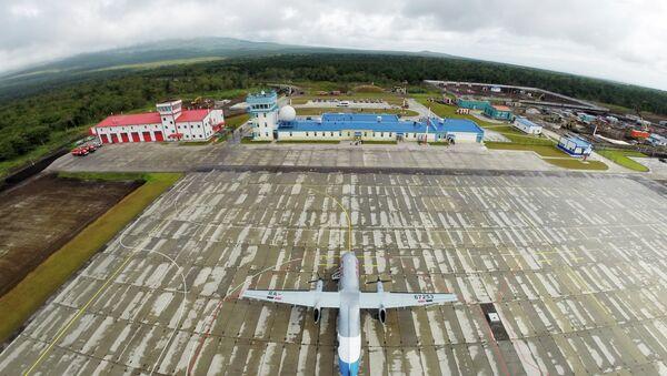 New airport opens on Iturup Island of the South Kuril Islands - Sputnik Italia