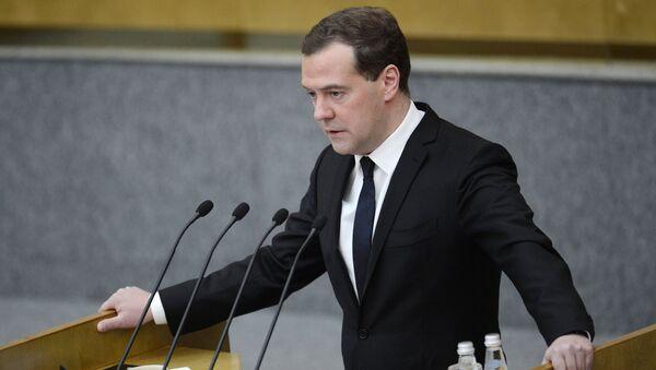 Primo ministro russo Dmitry Medvedev - Sputnik Italia
