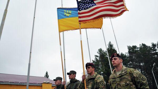 Istruttori militari USA in Ucraina - Sputnik Italia