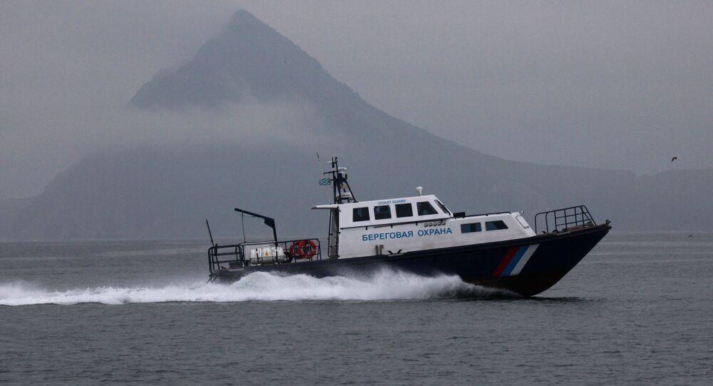 Motovedetta della guardia costiera russa