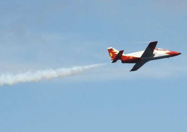Un aereo spagnolo
