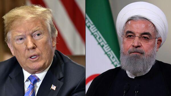 Trump e Rouhani - Sputnik Italia