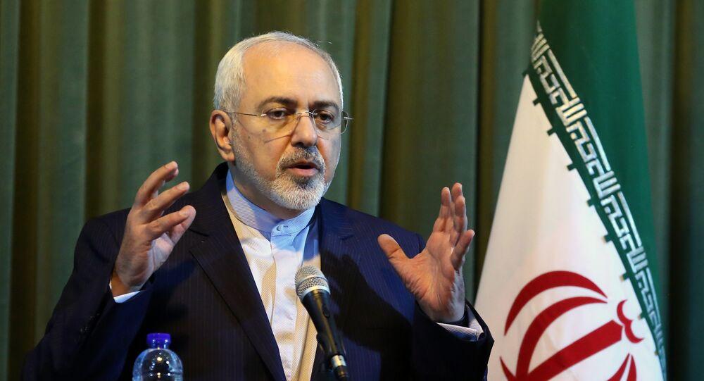 Il ministro degli Esteri iraniano Mohammad Javad Zarif