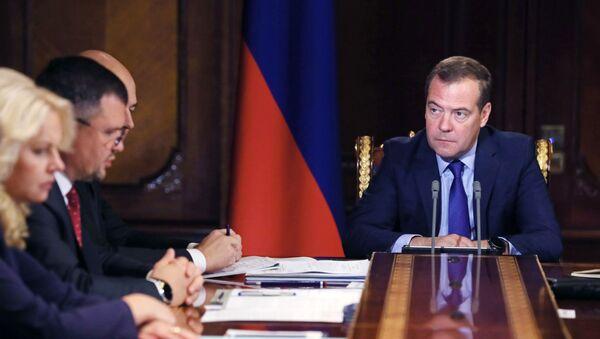 Il Primo Ministro della Federazione russa Dmitry Medvedev - Sputnik Italia