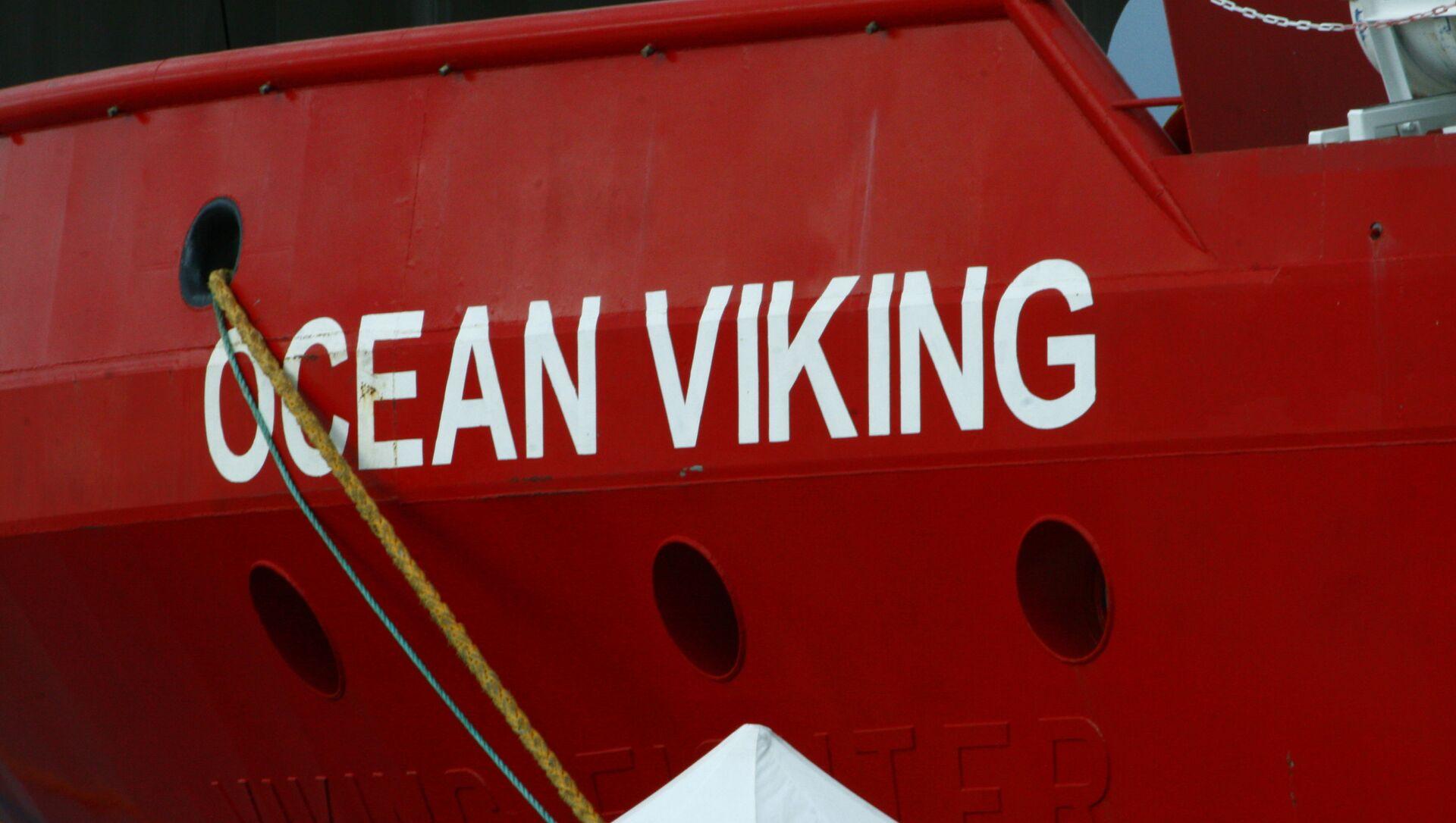 Lo sbarco della Ocean Viking a Messina - Sputnik Italia, 1920, 23.03.2021