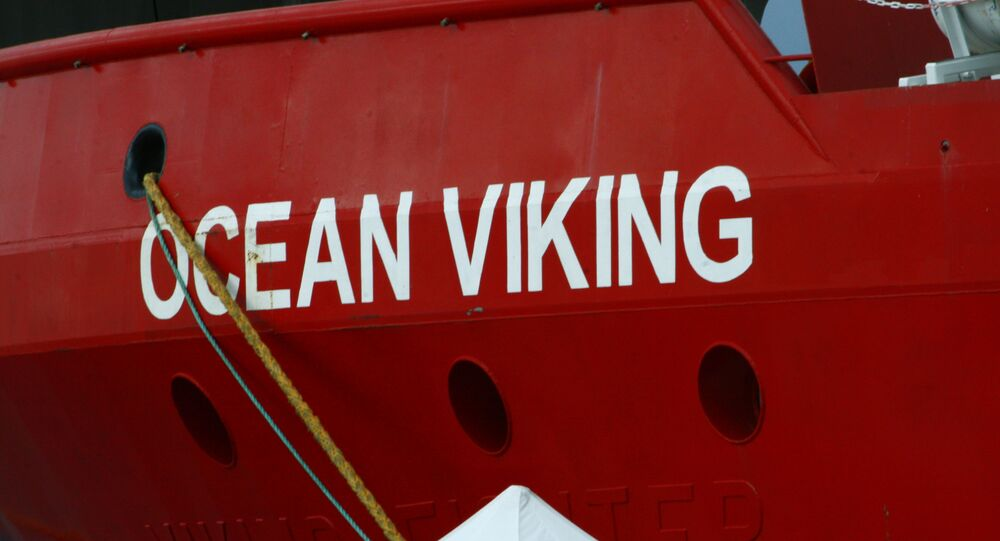 Nave Ocean Viking (foto d'archivio)