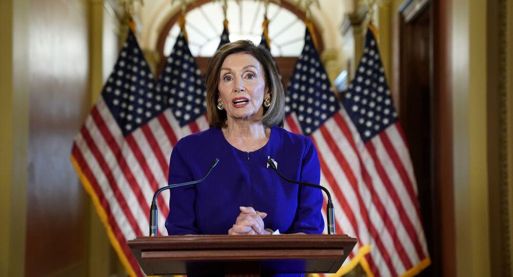 Speaker della Camera dei rappresentanti Nancy Pelosi