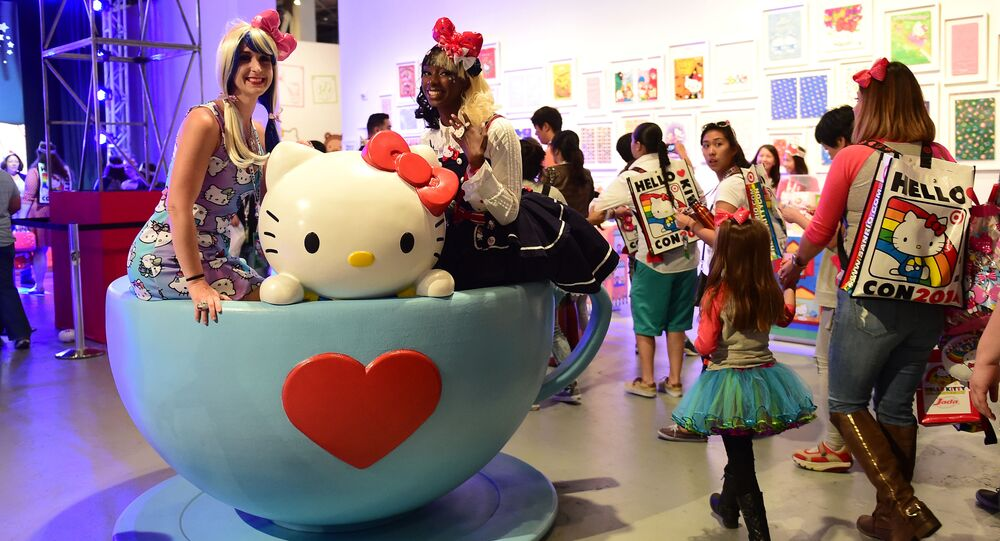 Hello Kitty in Giappone