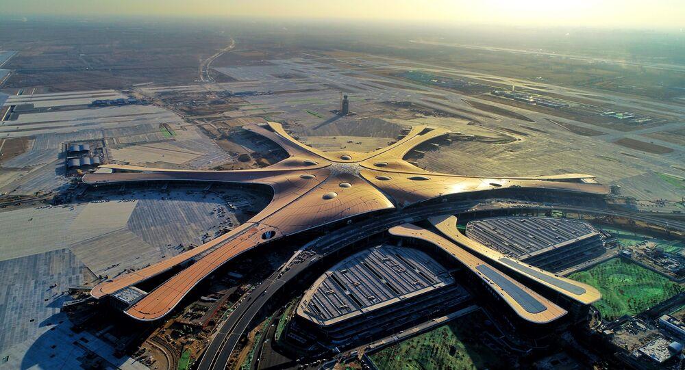 Il nuovo aeroporto pechinese di Dasin
