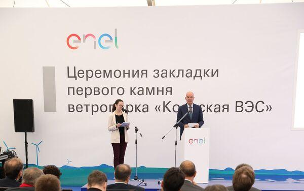 Il direttore generale di Enel Russia Carlo Palasciano - Sputnik Italia