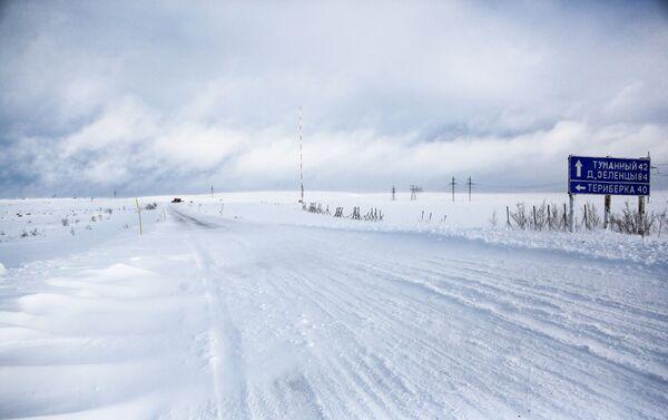 La tundra battuta dal vento nella penisola di Kola - Sputnik Italia