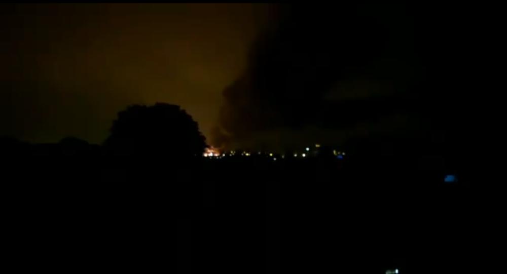 Incendio a Rouen