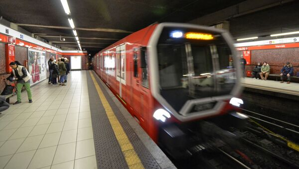 Metropolitana Milano - Sputnik Italia