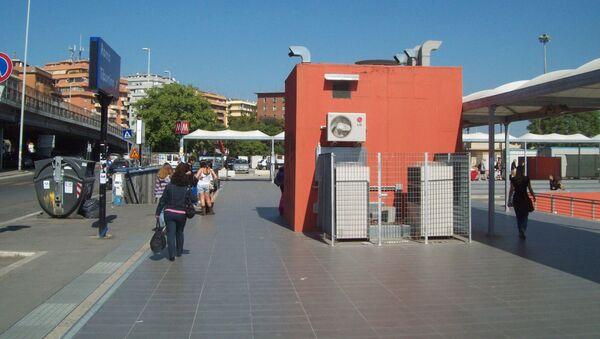 L'ingresso della stazione Tiburtina a Roma - Sputnik Italia