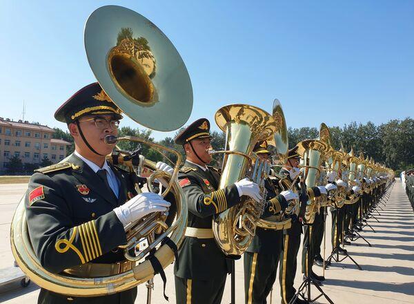 Orchestra militare cinese. - Sputnik Italia