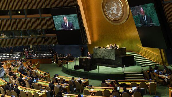 Lavrov all'ONU - Sputnik Italia