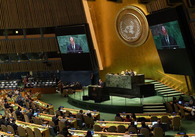 Lavrov all'ONU